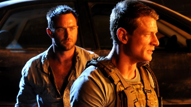 Sullivan Stapleton - Philip Winchester - Strike Back - Cinemax