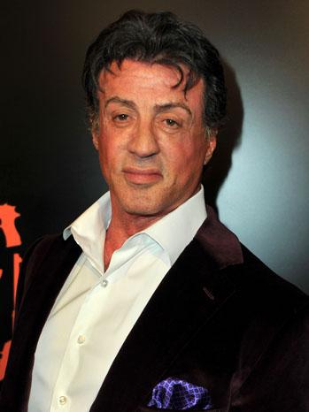 Sylvester Stallone Headshot - P 2011
