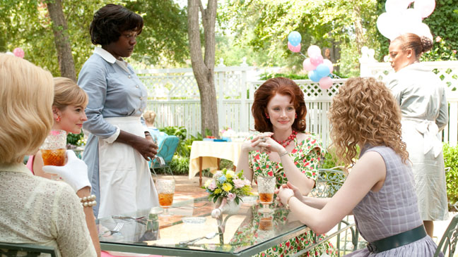 The Help Outside Table - H 2011