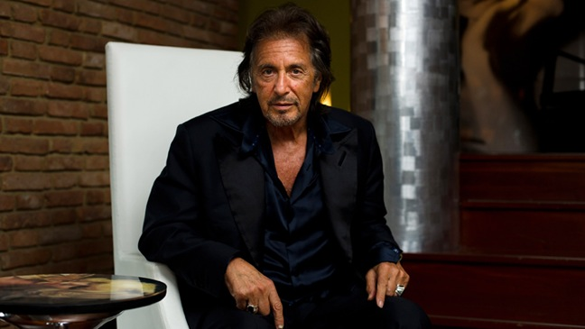 """Al Pacino - """"Jaeger-LeCoultre Glory To The Filmmaker 2011 Award"""" Honors - H - 2011"""