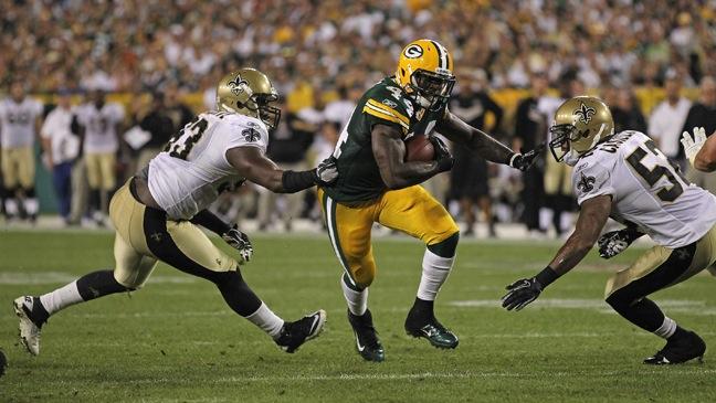 PACKERS-SAINTS NFL Season Opener-2011