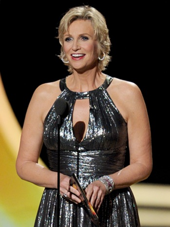 Jane Lynch-Presenting 63rd Primetime Emmy Awards-2011