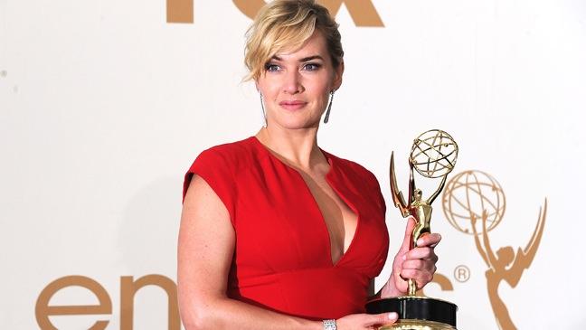 Kate Winslet-Press Room-Emmys-2011