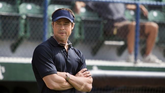 Brad Pitt-Moneyball-Still-2011