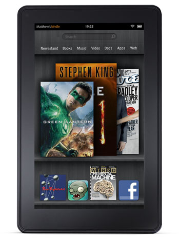 Amazon Kindle Fire - P 2011