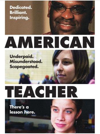 American Teacher Documentary Poster - P 2011