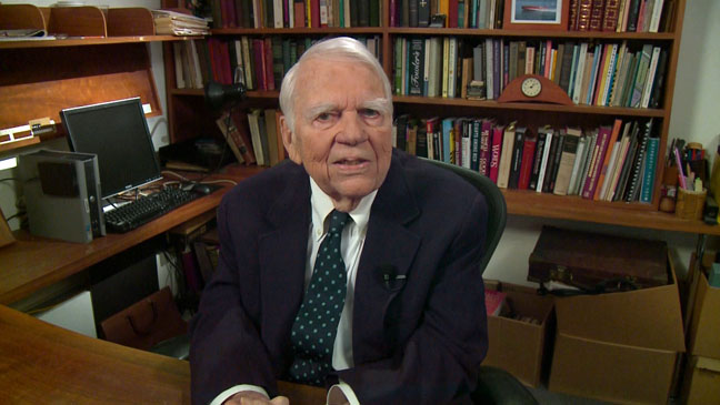 Andy Rooney 60 Minutes Last Segment - H 2011
