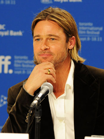 Brad Pitt Thoughtful - P 2011