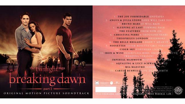 Breaking Dawn Soundtrack List - H 2011