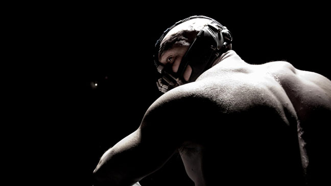 Bane in 'The Dark Knight Rises'