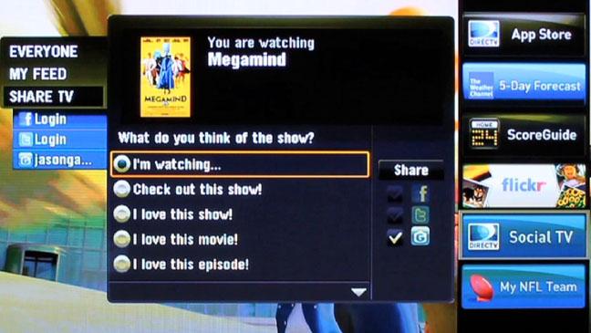 DirecTV GetGlue TV Screen Shot - H 2011