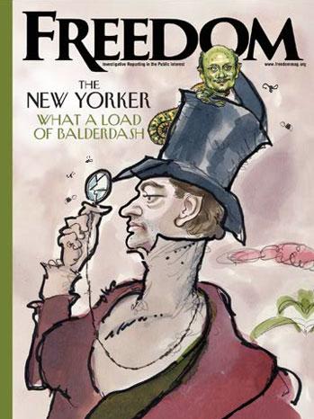 Freedom Scientology magazine cover 2011
