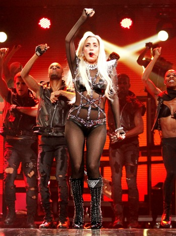 Lady Gaga Performs iHeartRadio 2 - H 2011