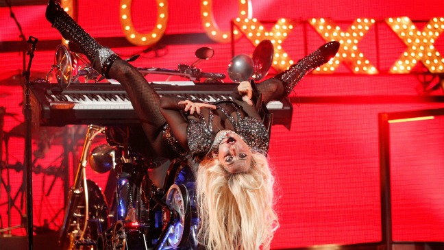 Lady Gaga Performs iHeartRadio - H 2011