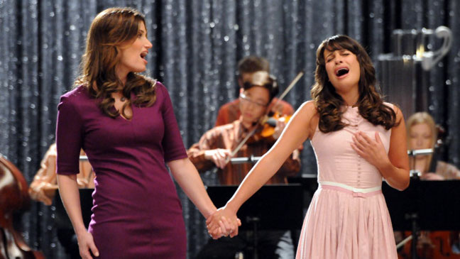 Glee Idina Menzel Lea Michele Season Three - H