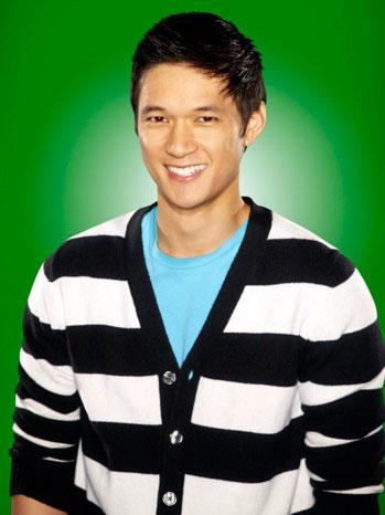 Harry Shum Jr. Fox Promo Portrait Green Background - P