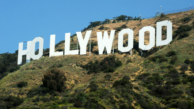 The Hollywood Sign - Los Angeles - H 2011