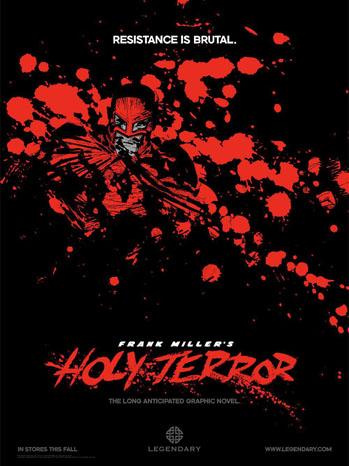 Holy Terror Poster Art - P 2011