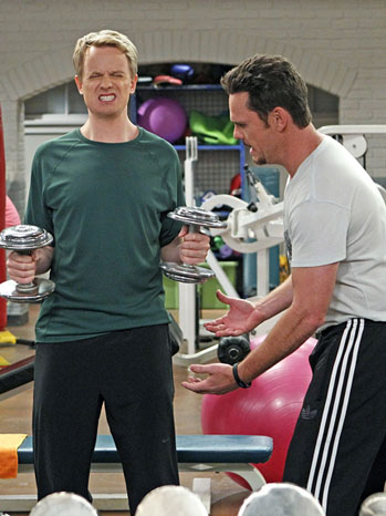 How to Be a Gentleman - TV Still: David Hornsby and Kevin Dillon - P - 2011
