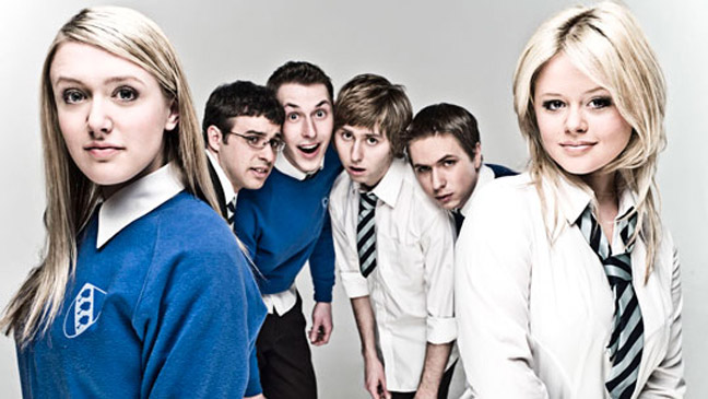 Inbetweeners Portrait - H 2011