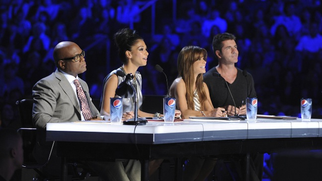 X Factor - TV Still: Judge's Table - H - 2011