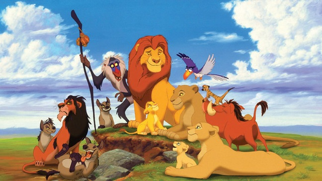 Lion King - Movie Still: Cartoon Cast - H - 1994