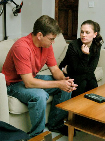 Margaret - Movie Still: Anna Paquin, Matt Damon - P - 2011