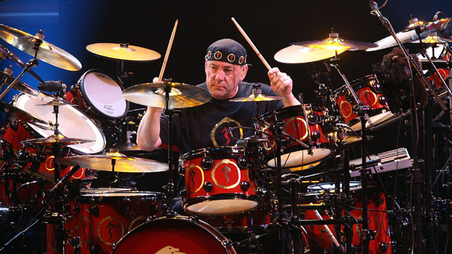 Neil Peart Rush Drum Set - H 2011