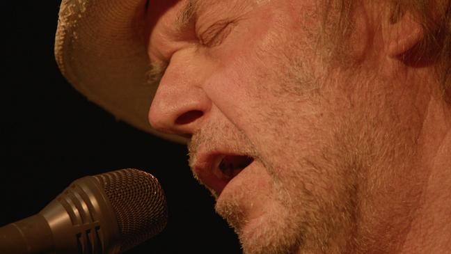 Neil Young Journeys film still - 2011