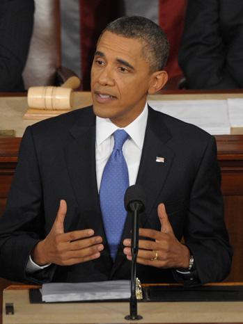 President Barack Obama Jobs Speech - P 2011