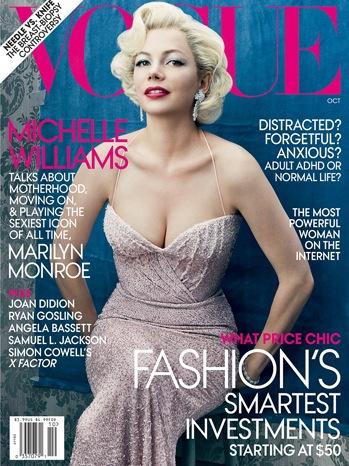 Michelle Williams - Vogue Cover - P - 2011