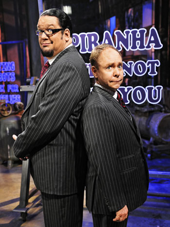 Penn and Teller Portrait - P 2011