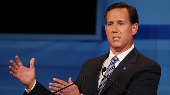 Rick Santorum Republican Presidential Debate September 22 - H 2011