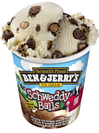 Schweddy Balls Ben & Jerry's Ice Cream - P 2011