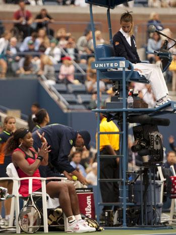 Serena Williams U.S. Open - P 2011