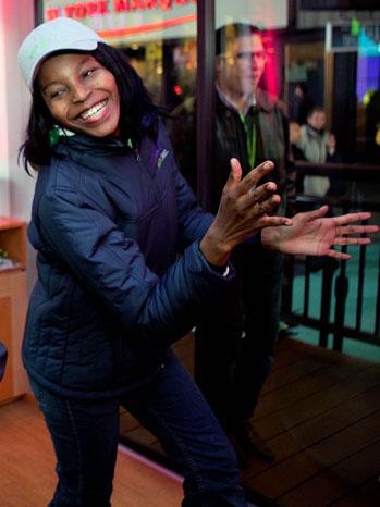 Swati Dlamini - Microsoft Launches Xbox 360 Kinect Accesory - P - 2011
