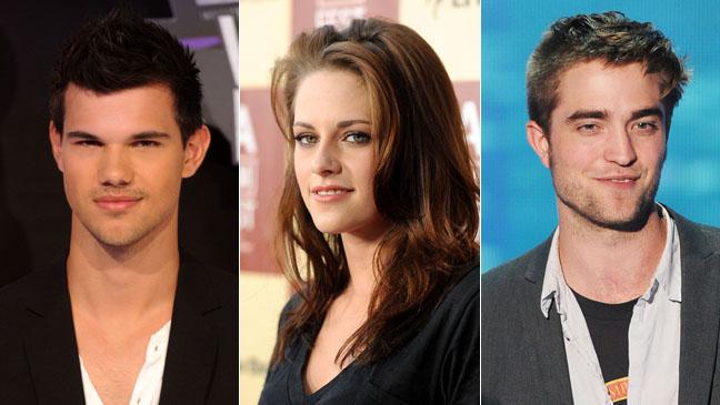 Taylor Lautner Kristen Stewart Robert Pattinson Split - H 2011
