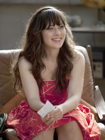 New Girl - TV Still: Zooey Deschanel - P - 2011