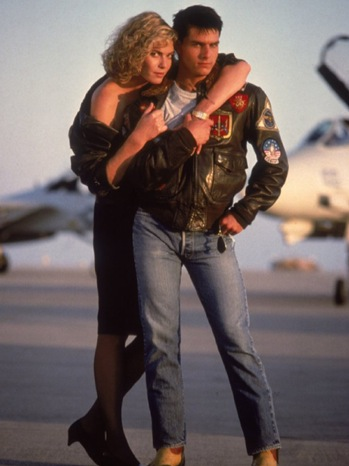 Top Gun - Movie Still: Tom Cruise and Kelly McGillis - P - 1986