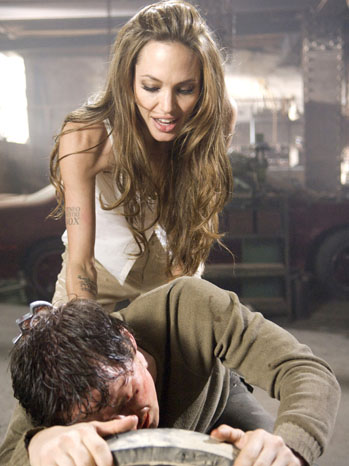 Wanted Film Still Angelina Jolie James McAvoy - P 2011