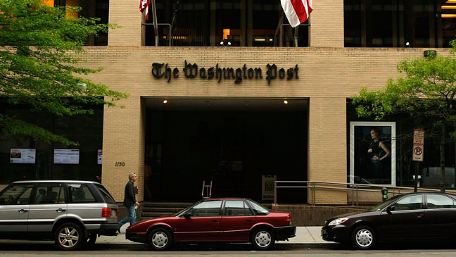 The Washington Post Exterior - H 2011