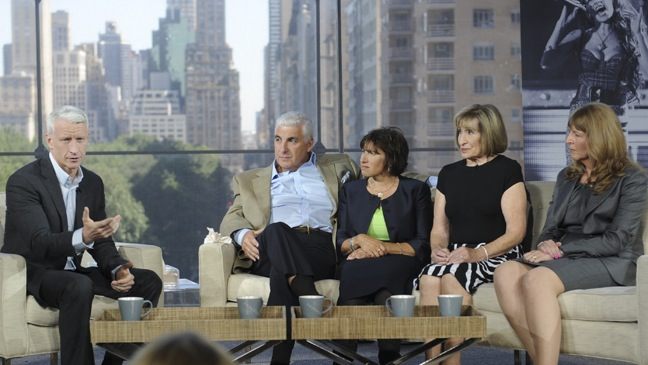 Anderson Cooper Show - On Set with Winehouse Family - H - 2011