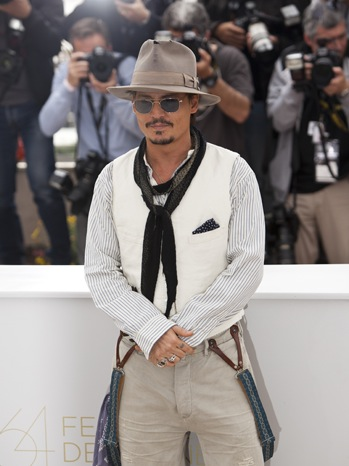 Johnny Depp - 64th Annual Cannes Film Festival  - P - 2011