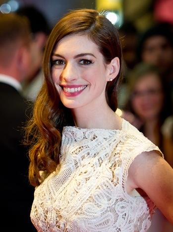 "Anne Hathaway - ""One Day"" European Film Premiere - Outside Arrivals - P - 2011"