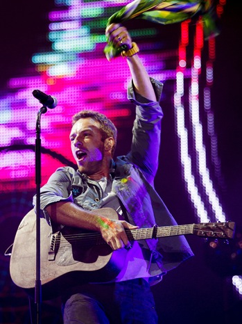 Coldplay - Performs at the Rock in Rio Festival - P - 2011