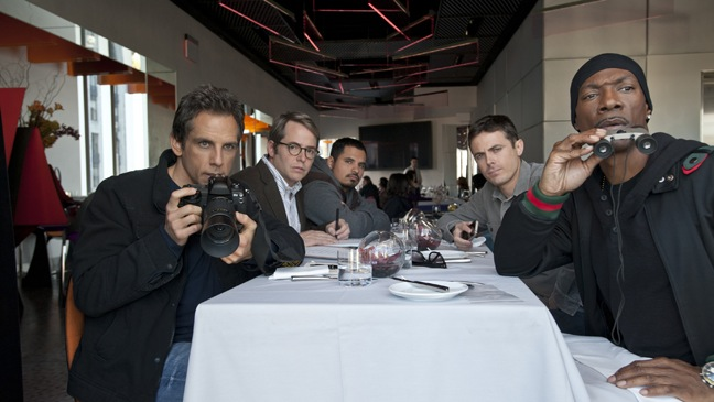 Tower Heist - Movie Still: Group at Table - H - 2011