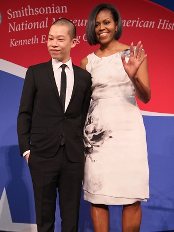 Michelle Obama-Jason Wu-Smithsonian Museum of American History-2010-V