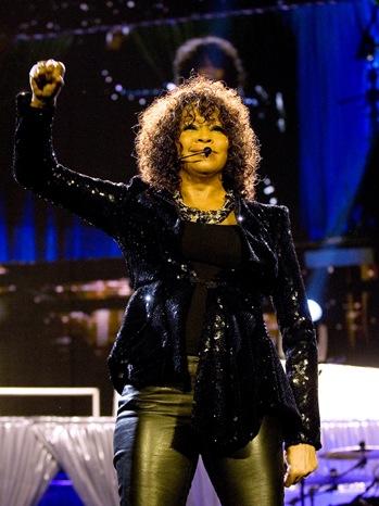 Whitney Houston - Performs At The O2 Arena - P -2010