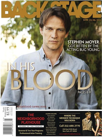 Backstage True Blood Cover - P 2011