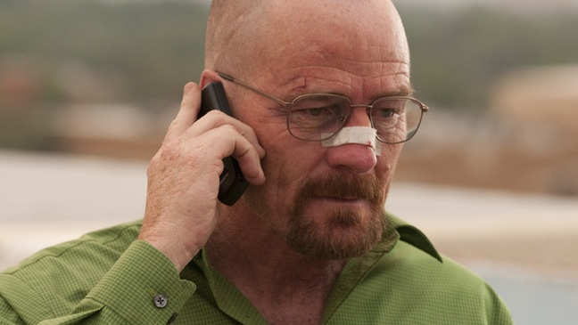 Breaking Bad - TV Still: Bryan Cranston in Finale - Season 4 - H - 2011